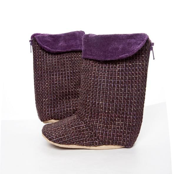 Boots / Girls - Purple Tweed