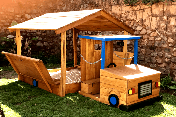 Kids Sandbox Playhouses
