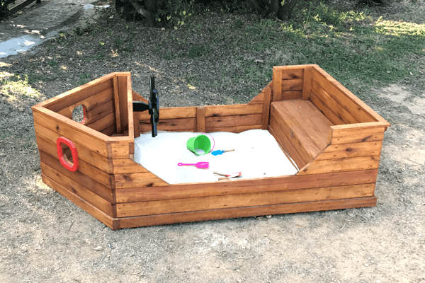 Kids Themed Sandboxes