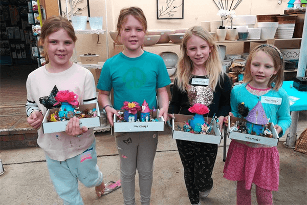 Fairy House Building Workshops and Private Kids Parties