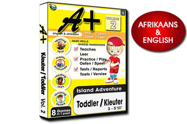 A+ TODDLER / KLEUTER VOLUME 2