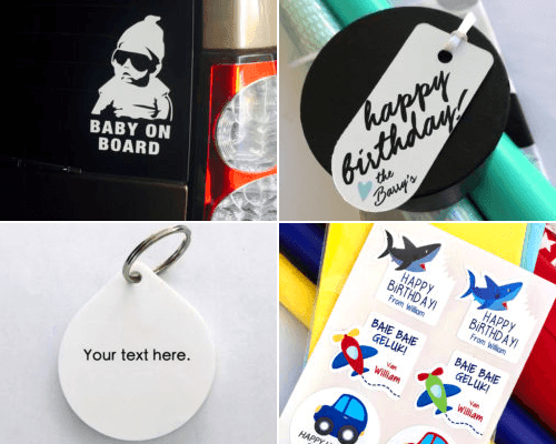 Tailored Tags, Personalised Products