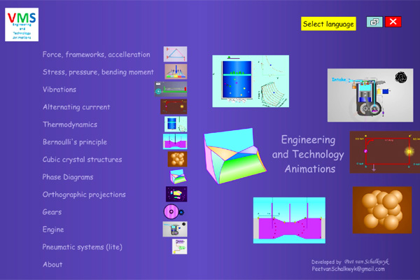 Engineering & Technology Apps And Animations